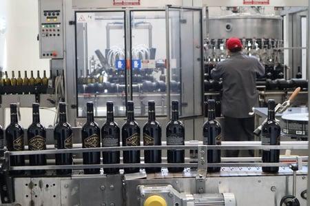 Wine bottling facility