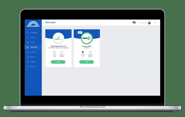 Self audit homepage
