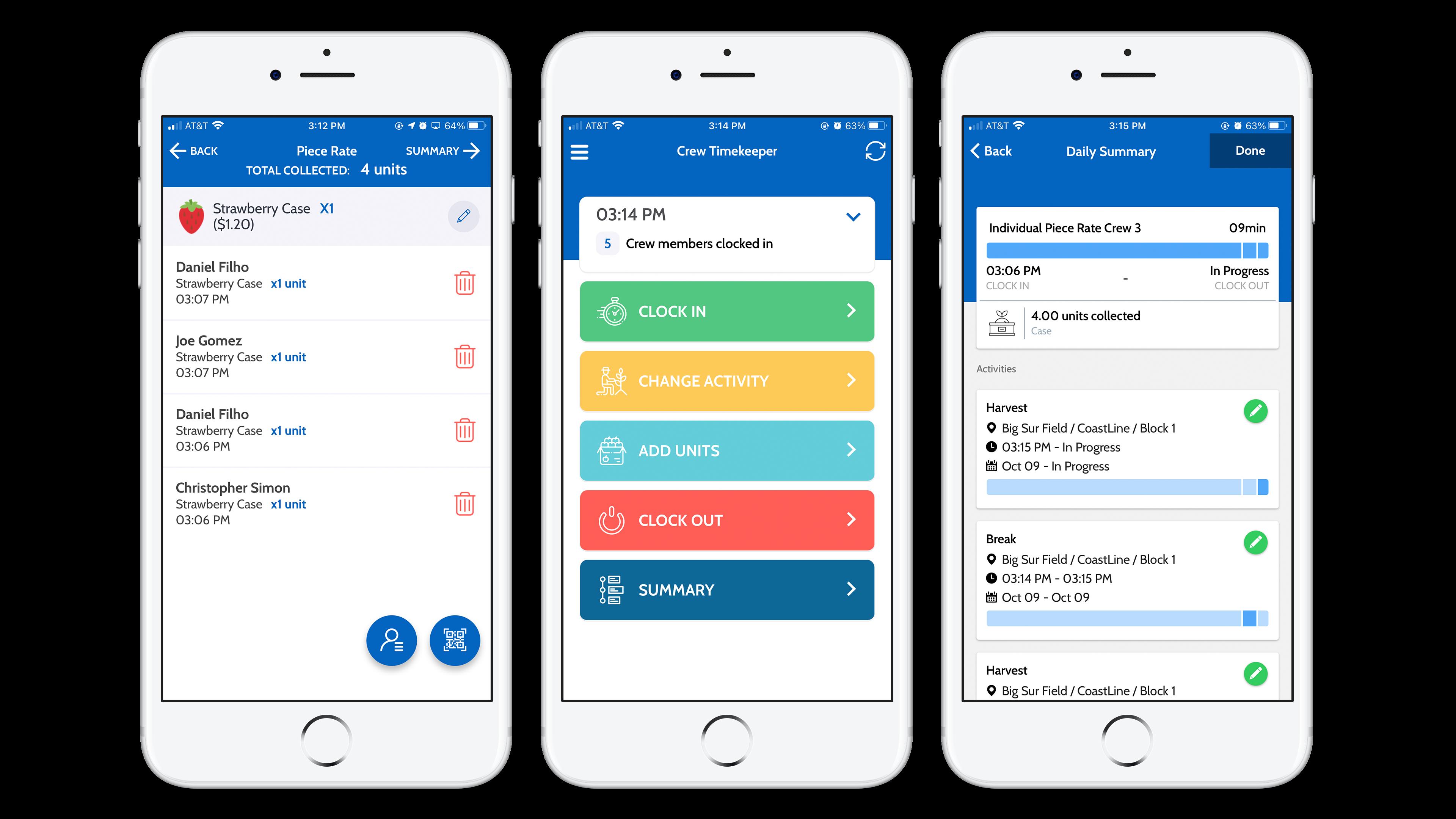 TimeKeeper mobile app